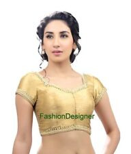 Ready to Wear Readymade  for Women Designer Saree Blouse Mirror work Blouse