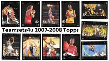 2007-08 Topps Basketball Set ** Pick Your Team ** see checklist in description.