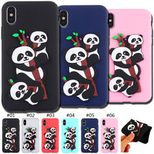 TPU Cute Fashion 3D Silicone Back Rubber Case Cover Soft Skin For Apple iPhone X