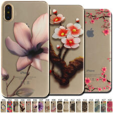 TPU Soft Case Clear Fashion Cute Slim Back Skin Rubber Silicone Cover For Apple