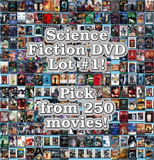 Science Fiction DVD Lot #1: DISC ONLY - Pick Items to Bundle and Save!