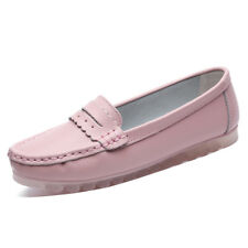 Quality Womens Moccassin Gommino Flats Shoes Leather Fashion Smoking Flats