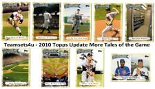 2010 Topps Update More Tales of the Game Baseball Set ** Pick Your Team **