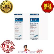 KY K-Y JELLY LIQUID H2O WATER BASED PERSONAL LUBRICANT LUBE Medium / Large USA