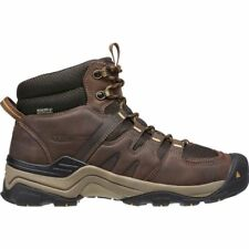 Keen Gypsum II Mid Waterproof Mens Shoes Coffee Bean/Bronze Mist