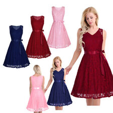Women's Vintage Lace Formal Wedding Cocktail Evening Party Prom Swing Dress New