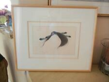 "Framed Frank Howell ""Wind Dancer"" Ltd Edt Lithograph 3/25 Signed 1987"
