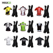 Mountain Bike Jersey Bib Shorts Skinsuit Cycling Bicycle MTB Riding Breathable
