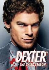 Dexter - The Complete Third Season (DVD, 2009) Factory Sealed, Free Shipping