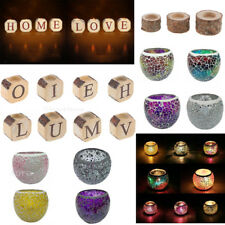 Candle Holder Tealight Votive Holder Candlestick Wedding Party Home Decorative