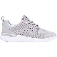 Supra Scissor Mens Footwear Shoe - Light Grey White All Sizes