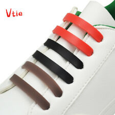 12 pcs/lot Colorful No Tie Shoelaces for sneakers and other shoes man and women