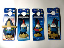 Travelocity Roaming, Snorkel, Mexico or Swimmer Gnome Luggage Tag New!!