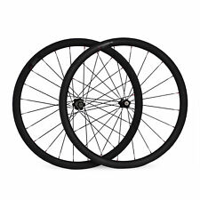 Carbon wheelset 700c clincher carbon fiber road wheelset 38MM Tubular wheels