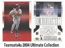 2004 Ultimate Collection (Base 1-126 #ed/675) Baseball Set ** Pick Your Team **