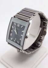 Rado Diastar Steel & Ceramic Gents Quartz Watch *Short Bracelet* (4586)