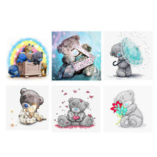Bear DIY Diamond Painting Embroidery Cross Craft Stitch Art Kit Home Decor