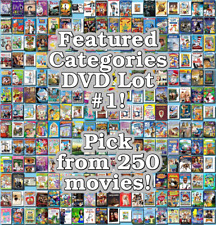 Featured Categories DVD Lot #1: DISC ONLY - Pick Items to Bundle and Save!