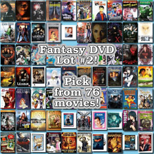 Fantasy DVD Lot #2: DISC ONLY - Pick Items to Bundle and Save!