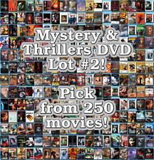 Mystery & Thrillers DVD Lot #2: DISC ONLY - Pick Items to Bundle and Save!