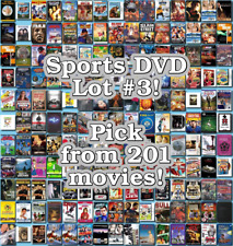 Sports DVD Lot #3: DISC ONLY - Pick Items to Bundle and Save!
