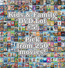 Kids & Family DVD Lot #5: DISC ONLY - Pick Items to Bundle and Save!