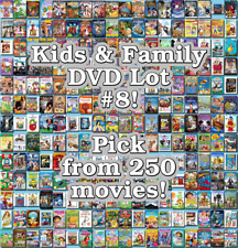 Kids & Family DVD Lot #8: DISC ONLY - Pick Items to Bundle and Save!