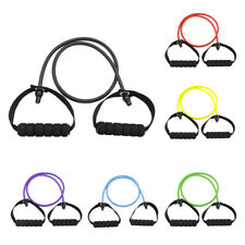 MagiDeal Resistance Band Pilates Tube Rope Gym Yoga Fitness Exercise Cord