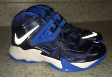 NEW Womens NIKE Zoom LeBron Soldier VII 7 Navy Blue Basketball Shoe Sneakers 7.5