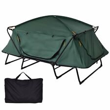 Waterproof Oxford Fishing Tent Cot Folding Camping Tent Elevated Gear Storage