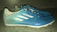 ADIDAS Adizero Ambition Blue Fade to White Track Spikes Shoes NEW Mens Sz 7
