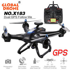 Global Drone 6-axes X183 WiFi FPV HD 2MP Camera GPS Brushless Quadcopter Drone