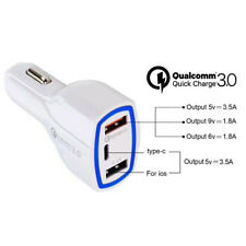 3.0 Port USB Car Charger Quick Charge 3.0
