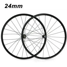 24mm Depth Bicycle Wheels Carbon Wheelset 700c Clincher Tubular Standard Wheel