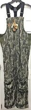 GAMEKEEPER Insulated Harvester Bibs Mossy Oak Bottomland Waterproof