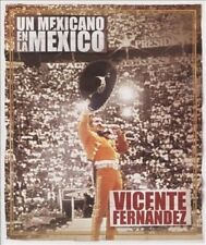 VICENTE FERNANDEZ - Un Mexicano El La Mexico (2010 Sony Music Latin) DVD - NEW