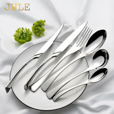 Silverware Kaya Luxury Cutlery Set Stainless Steel Dinner Knife Fork Tablespoon