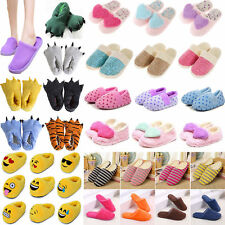 Emoji Pokemon Plush Stuffed Adult Kid Home Slipper Everyday Indoor Slip On Shoes