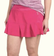 REEBOK Pleated Hem Pink Relaxed Fit Tennis Skirt Skort NEW Womens Sz XS S M L