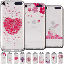 For Apple iPhone iPod Case Cover Clear Painted Fashion Back Slim TPU Soft Skin