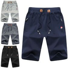 New Summer Men's Casual Shorts Baggy Gym Sport Jogger Sweat Beach Pants Trousers