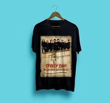 New The Doobie Brothers Steely Dan Tour 2018 Black Gildan Size S-2XL