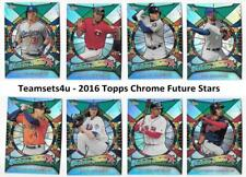 2016 Topps Chrome Future Stars Baseball Set ** Pick Your Team **