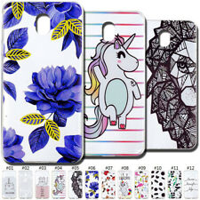 Painted Soft TPU Skin Clear Silicone Rubber Back Case Cover For Samsung Galaxy