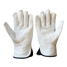 MagiDeal Leather Gloves Working Protection Gloves Security Garden/Work Glove