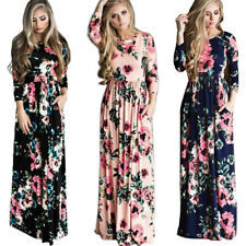 Maxi Dress with Pockets for Women