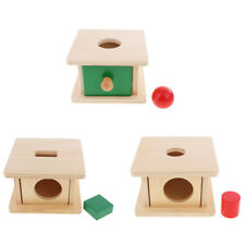 Kids Educational Learning Toy Gift Montessori Wooden Toy Shape Matching