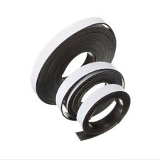 1m/2m/5m Self Adhesive Flexible Soft Rubber Magnetic Tape Magnet DIY Craft Strip