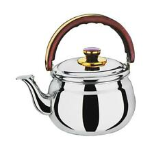 0.6L~6L Stainless Steel Whistling Kettle Electric Stove Gas Hobs Camping