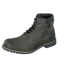 Dockers by Gerli Men's 41GL002 Boots 220102 Grey Leather Lace up Boots